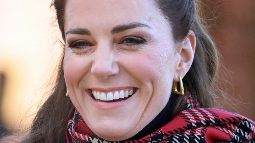 Kate's Earrings May Hint At What She Thought About Harry And Meghan's Interview