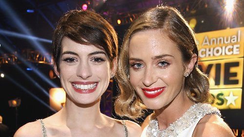 Inside Anne Hathaway's Friendship With Emily Blunt