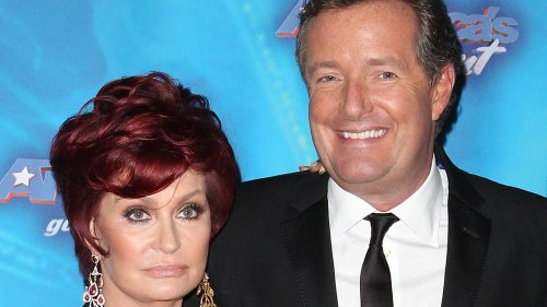 Sharon Osbourne's Tweet About Piers Morgan Has People Seeing Red