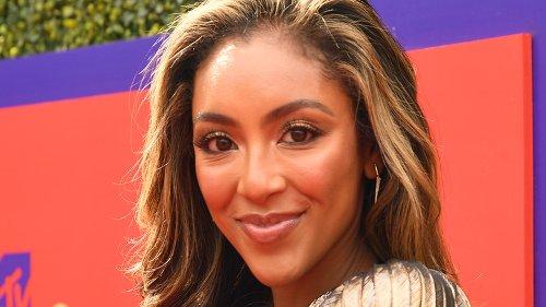 How Tayshia Adams Really Feels About Blake Moynes' Appearance On The Bachelorette