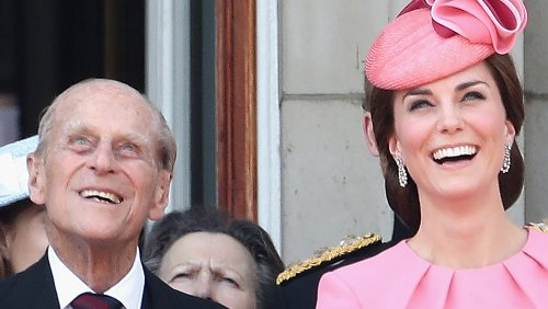 What We Know About Prince Philip's Relationship With Kate Middleton