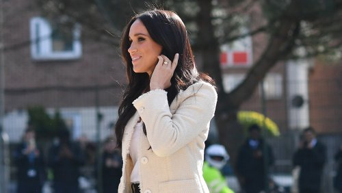 Meghan Markle Is Unrecognizable With Her Natural Hair