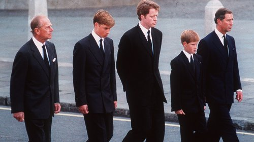 The Heartbreaking Reason Prince Philip Walked With Harry And William At Diana's Funeral