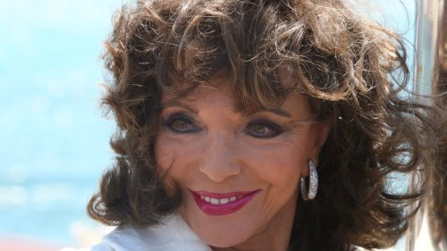 Joan Collins Hints At What She Really Thinks Of Meghan And Harry