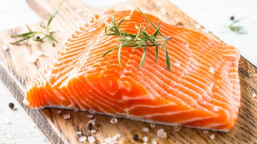 Here's The Big Mistake You're Making When Cooking Salmon