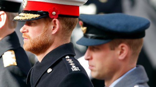 Here's Why Prince Harry And Prince William Won't Walk Side By Side At Prince Philip's Funeral