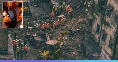 Raigad Building Collapse: 60-Year-Old Woman Rescued After Being Stuck Under Debris for 26 Hours