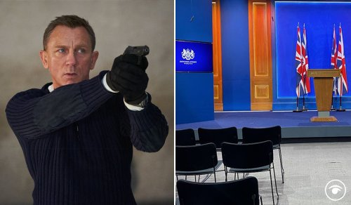 Govt used £2.6m Downing Street briefing room for private screening of James Bond