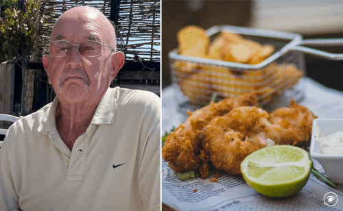 Yorkshire dad left 'needing therapy' after paying for fish and chips in London