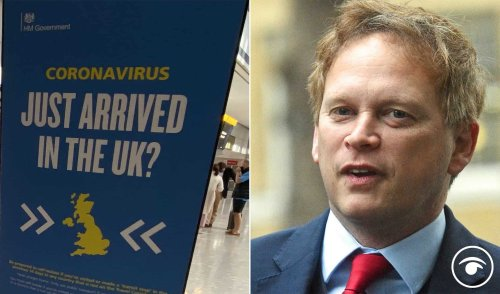 Outrage after Shapps announced only 'UK residents' travelling can dodge quarantine