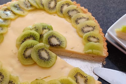 Sweet Kiwi Lime Pie