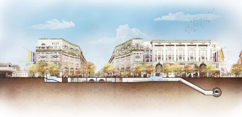 Revealed: Plans to pedestrianise Oxford Circus with two 'piazzas'