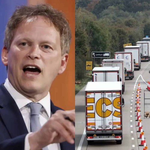 Grant Shapps finally admits Brexit is a 'factor' in the fuel crisis