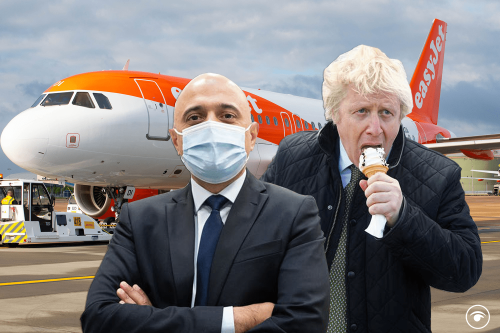 'Johnson Variant' trends again as cases soar and UK flights get banned