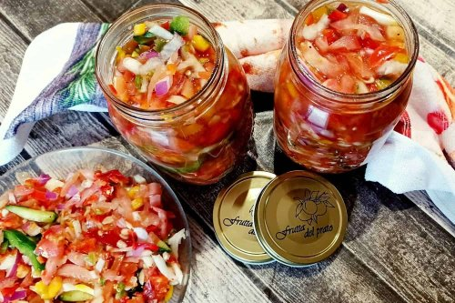 Bottled Chow Chow Salad