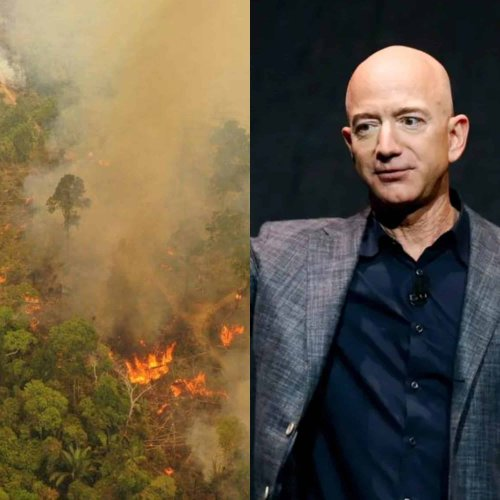 Bezos gets almost as much TV coverage in one day as the climate crisis has received in 2020
