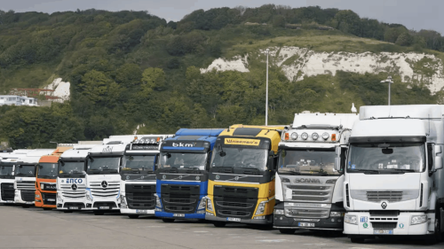 'You are on your own now' - EU lorry drivers react to pleas for them to return to UK