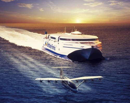 'Flying ferries' could slash cross-Channel journey times to 40 minutes
