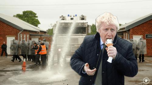 PMQs: Boris Johnson loses the battle of the Sombre