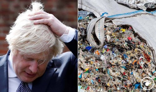 Boris Johnson ridiculed after saying recycling doesn't work