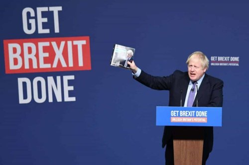 Boris Johnson says his Brexit deal must be renegotiated