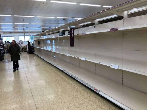'There are no deliveries because of Brexit,' supermarket worker reveals