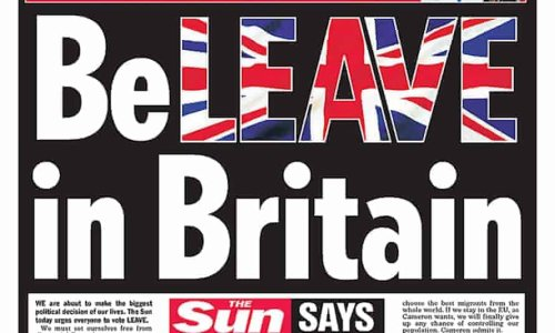 Brexit-backing newspapers say Britain is 'running on empty'