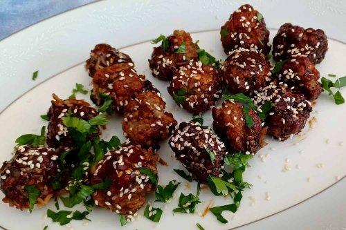 Glazed Pork Meatballs