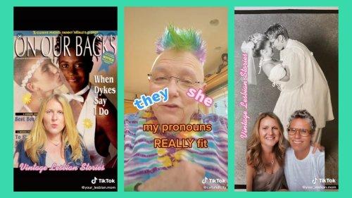 TikTok's Elderqueer Creators Bring LGBTQ+ History to Life