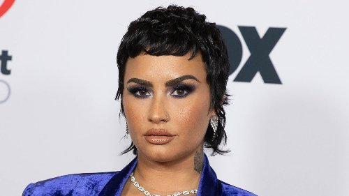 Demi Lovato's Pixie Cut and Baby Bangs Are Back