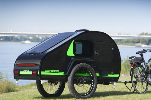 This Fat-Tired Teardrop Trailer Is Built for Bikepacking | The Manual