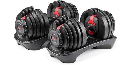 Bowflex Adjustable Weights Are Unbelievably Cheap at Amazon Today | The Manual