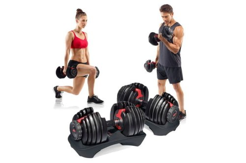 We Can't Believe How Cheap Bowflex Dumbbells Are at Amazon | The Manual