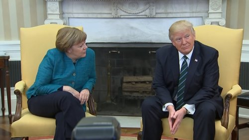 Donald Trump Wouldn't Shake Hands With Angela Merkel   The Mary Sue