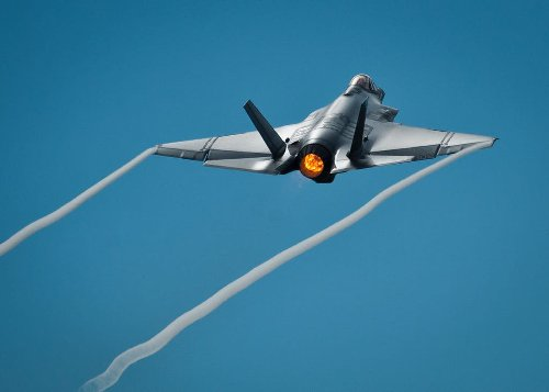 Drone Swarms Clearing Path for F-35s to Bring Firepower