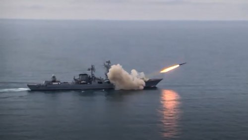 Russian Navy Conducts First Black Sea Supersonic Cruise Missile Test - The Moscow Times