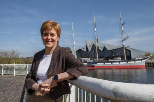 'Queen of Scots' Nicola Sturgeon may lead nation to independence, French report says