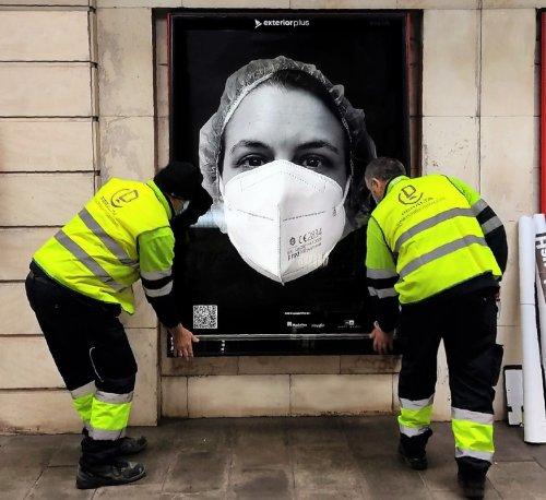 'Behind The Mask', el proyecto artístico que homenajea al personal sanitario