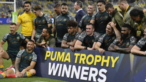 Wallabies beat Argentina 27-8 for a third-straight Rugby Championship win