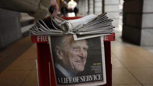 In pictures: How the world reacted to the death of the Duke of Edinburgh