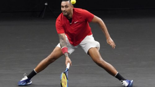 Nick Kyrgios pins hopes on blood platelet injection to counter 'jumper's knee'