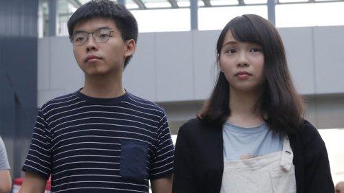 Hong Kong's 'goddess of democracy' leaves jail after seven months