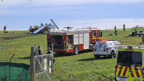 Light plane crashes at Melbourne golf course