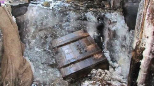 Melting glacial ice reveals 'time capsule' in WWI bunker