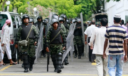 Amid Domestic Strife, Maldives' Military Takes to International Stage - The News Lens International Edition