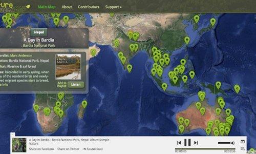 在家也想聆聽大自然?試試「Nature Sound Map」400個自然聲景 - The News Lens 關鍵評論網