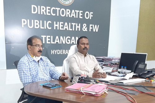 'Wear a mask even at home, situation severe': Telangana Health Director