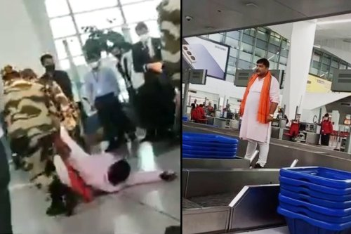 Man barred from boarding flight for no RT-PCR report creates ruckus at Delhi airport