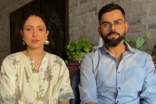 Anushka Sharma and Virat Kohli start campaign to raise Rs 7 crore for COVID-19 relief