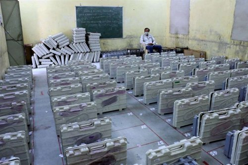 VVPAT found in Chennai was used for 50 minutes, had 15 votes